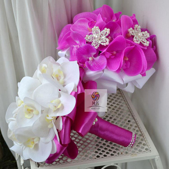Handmade Custom Made Europe Style Silk Artificial Wedding Bouquets ...