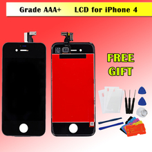 Repair For iPhone 4S Display LCD Digitizer Touch Screen Assembly No Dead Pixel AAA Quality Pantalla Replacement