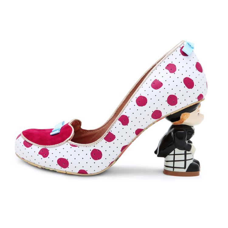 Choudory Bridal Shoes Woman Spring Autumn Butterfly knot Polka Dot ...