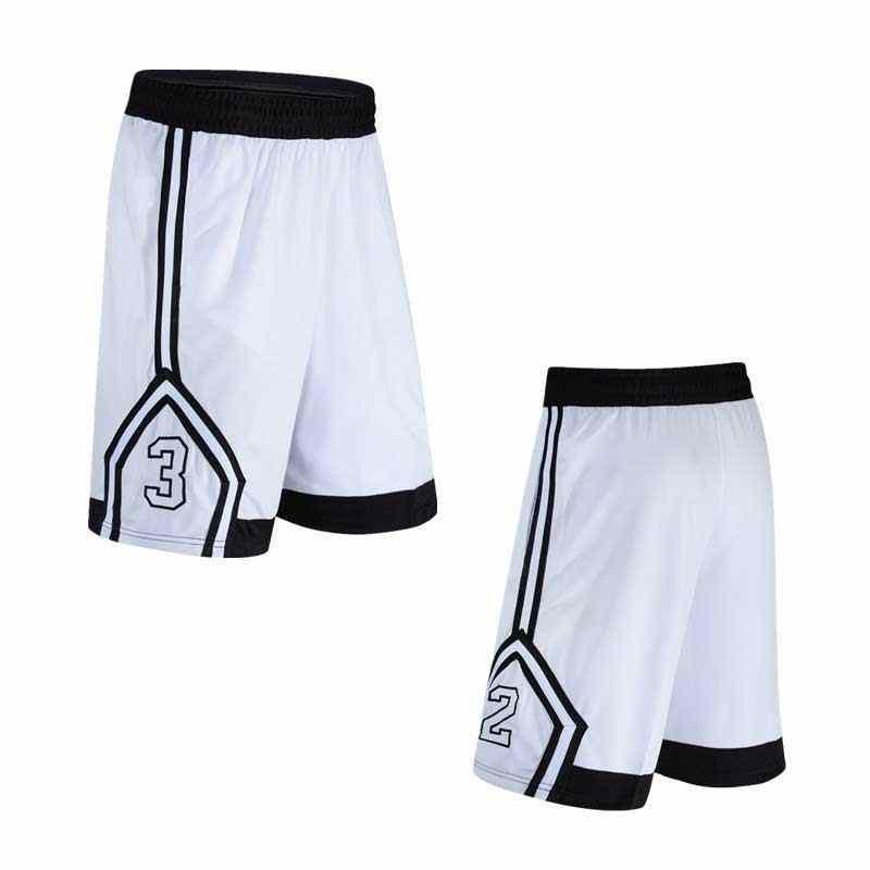 Pria Basket Set Olahraga Gym Cepat Kering Olahraga Celana Pendek + Celana Ketat untuk Pria Sepak Bola Latihan Hiking Menjalankan Kebugaran yoga 17216