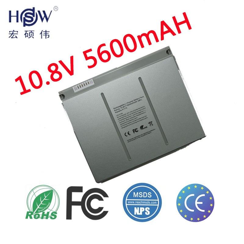 """HSW Batterie D'ordinateur Portable Pour Apple MacBook Pro 15 """"A1175 MA348 A1150 A1260 MA463 MA464 MA600 MA601 MA610 MA609 batterie pour ordinateur portable"""