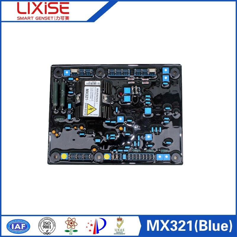 Mx321 Automatic Voltage Regulator Of Generator Avr Circuit Diagram