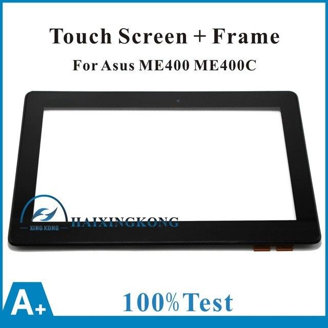 """Новый 10.1 """" сенсорный экран планшета рамка для Asus VivoTab Smart ME400 ME400C 5268N + рамка"""
