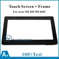 "New 10.1"" Touch Screen Digitizer Bezel For Asus VivoTab Smart ME400 ME400C 5268N+Frame"