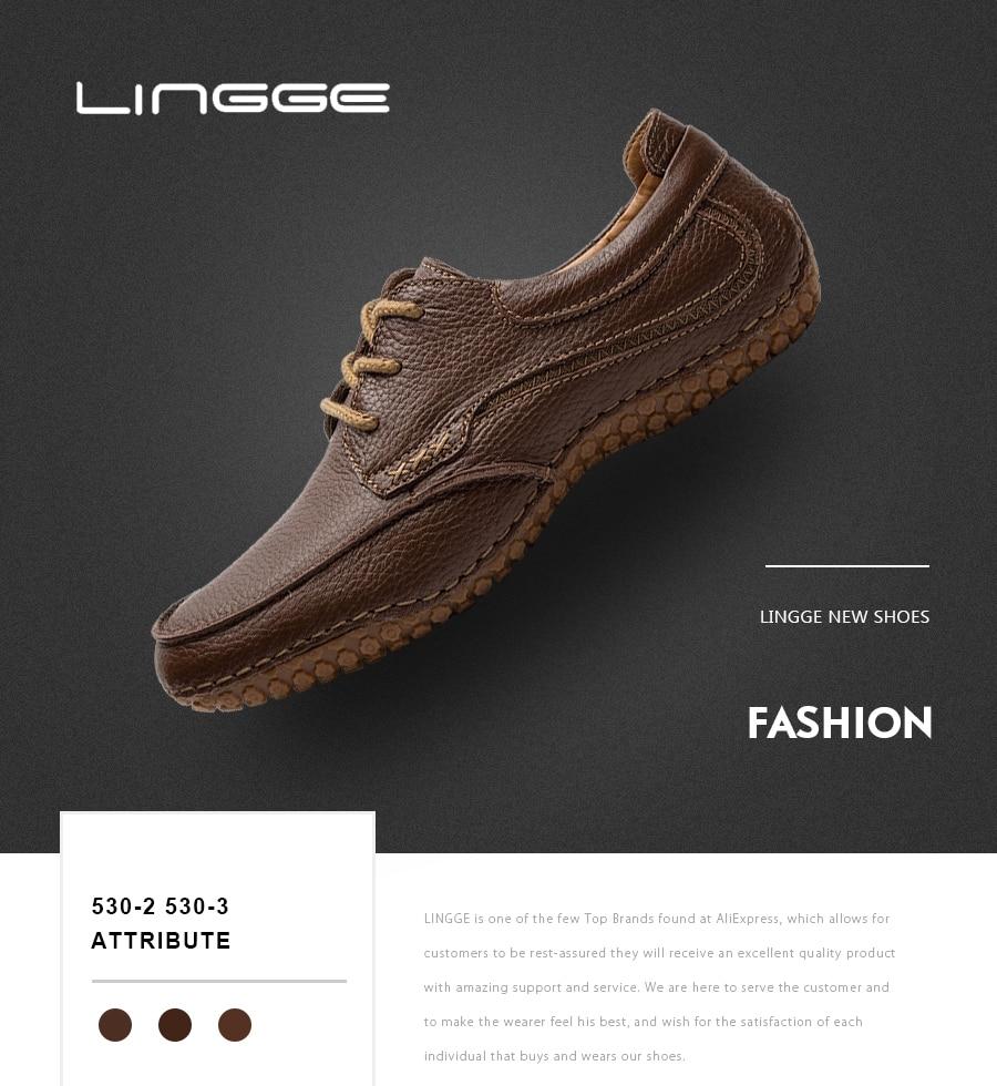 LINGGE/мужская кожаная обувь г. Мужская обувь из натуральной кожи, Размер 40-45 коричневые Свадебные модельные туфли оксфорды на шнуровке,#530-2