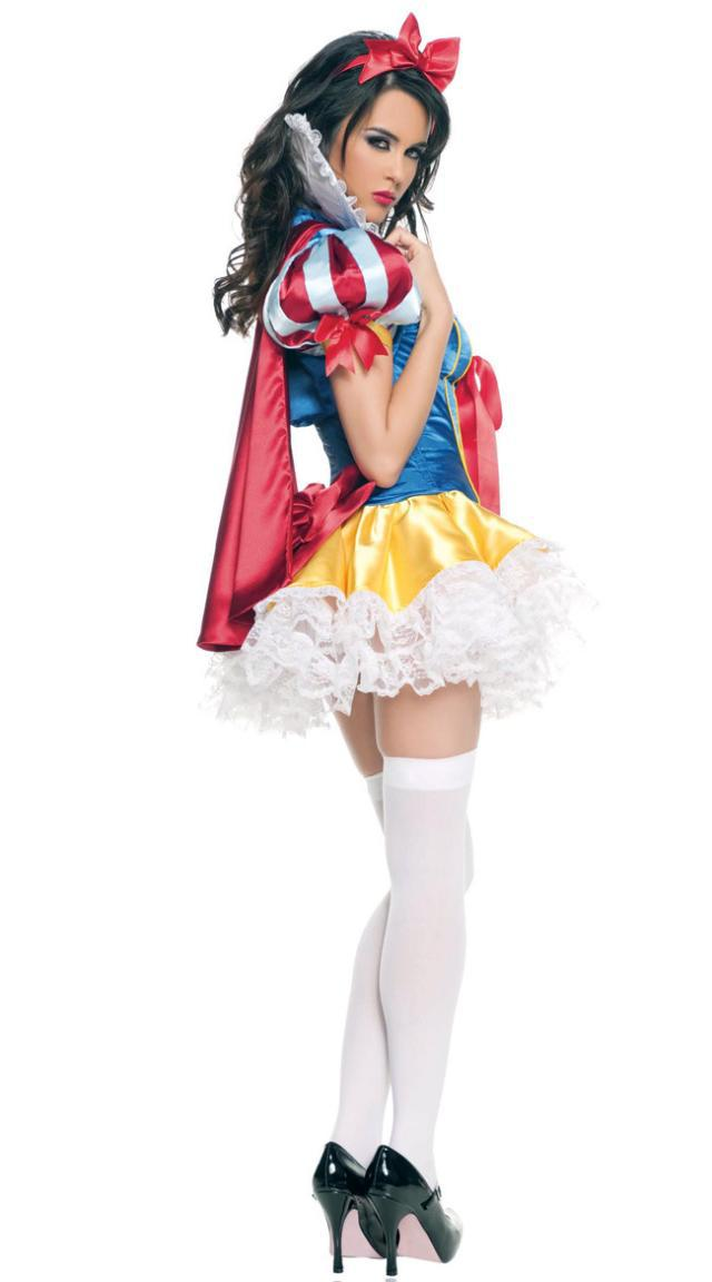 New Adult Womens Halloween Princess cosplay costume Party Snow White Costumes Outfit Queen Cosplay Dresses Carnival dress F 1026 on Aliexpress.com | Alibaba ...  sc 1 st  AliExpress.com & New Adult Womens Halloween Princess cosplay costume Party Snow White ...