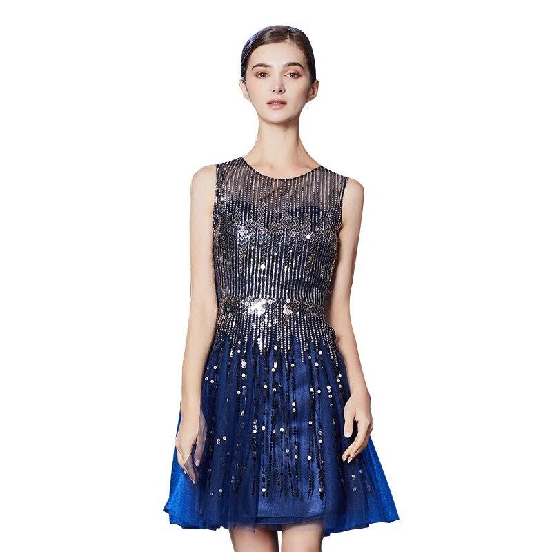 Cérémonie Gamme Up84 Femmes De Élégante Paillettes Robe Parti Gala 2018 Voile Date Proms Robes Nouvelles Gratuating Vente Haut Cocktails 2 1 Pour HqxwZ