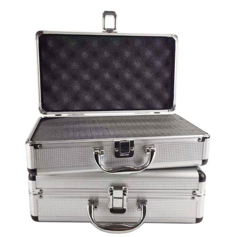 1PC Aluminum Alloy Tool Box Hardware Equipment Camera Instrument Case Impact Resistance Storage Box Outdoor Equipment Box