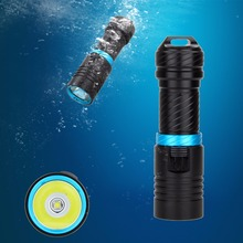 Santa Claus Rechargeable 5000LM Underwater 100m L2 LED Diving Flashlight Waterproof Torch+26650+CH