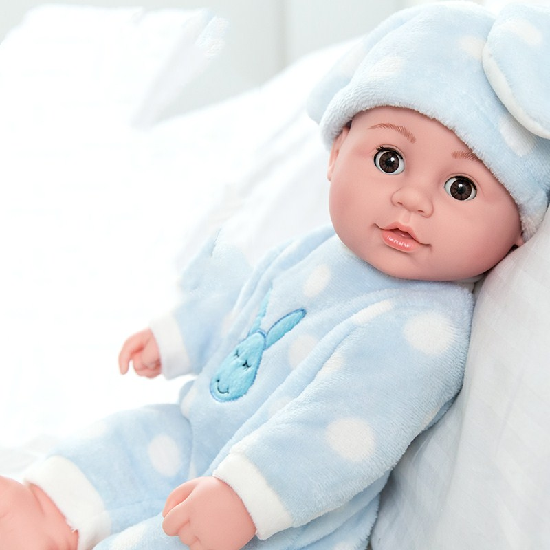 Lol Dolls Toys Bjd Reborn Silicone Simulation Baby Doll Talking Soft Rubber Housekeeping Early Education Girl Child Toy