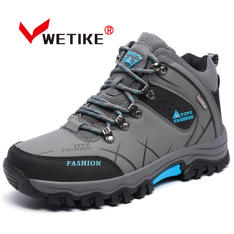 Men s Hiking Shoes Outddor Sneaker Sports For Men Athletic Trekking Boots Waterproof Non slip Mountaineering