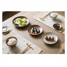 ANTOWALL 7pcs/set Japanese Style Ceramic Dinnerware Set Blue Kitchen Tableware Included Bowls Dishes Plates