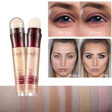 Dark Circle Eraser Concealer Pen Under Eye Highlighter Cover up Acne Scars Fine Lines Lip Primer Flawless Face Makeup