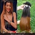 Лиссе Tissage Bresilienne Бразильского Наращивание Волос 1B 30 Ombre Два Тона Девственных Человеческого Волоса 2/3/4 Шт. дешевые Прямые Человеческие Волосы