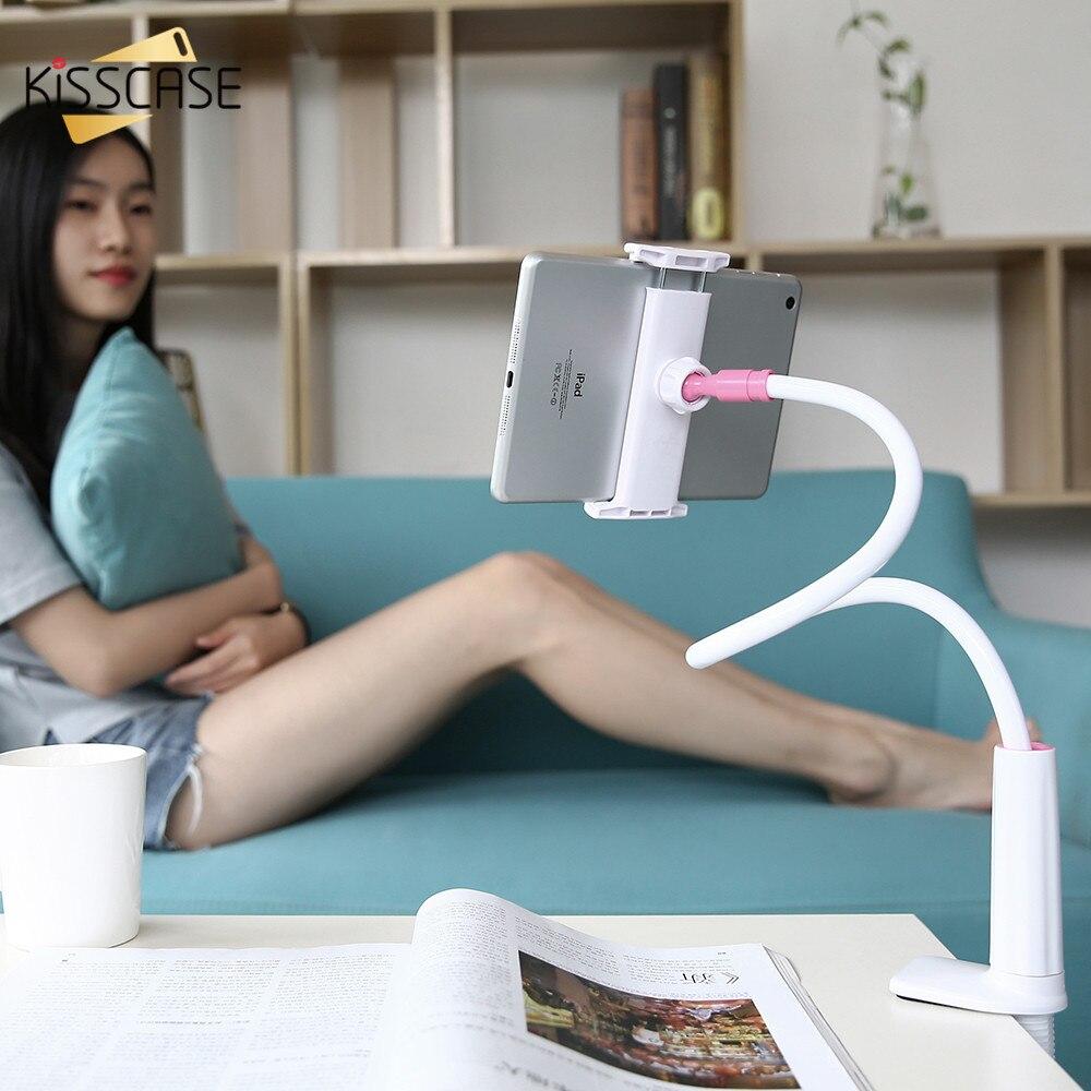 KISSCASE Universal Handy-halter-standplatz Für Samsung Schreibtisch Tablet PC Ständer Für iPhone iPad Kompatibel Innerhalb 3,5 ~ 10,5 zoll bildschirm