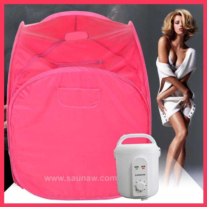 portable steam bath online. aliexpress feistel fir portable sauna spa steam room red box mini 110v or bath online