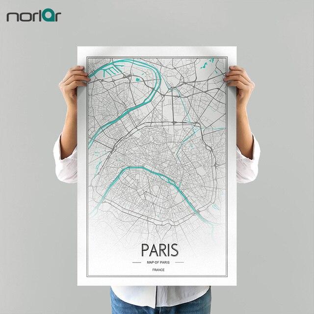 Edición limitada HD impresión personalizable París Ciudad línea ...