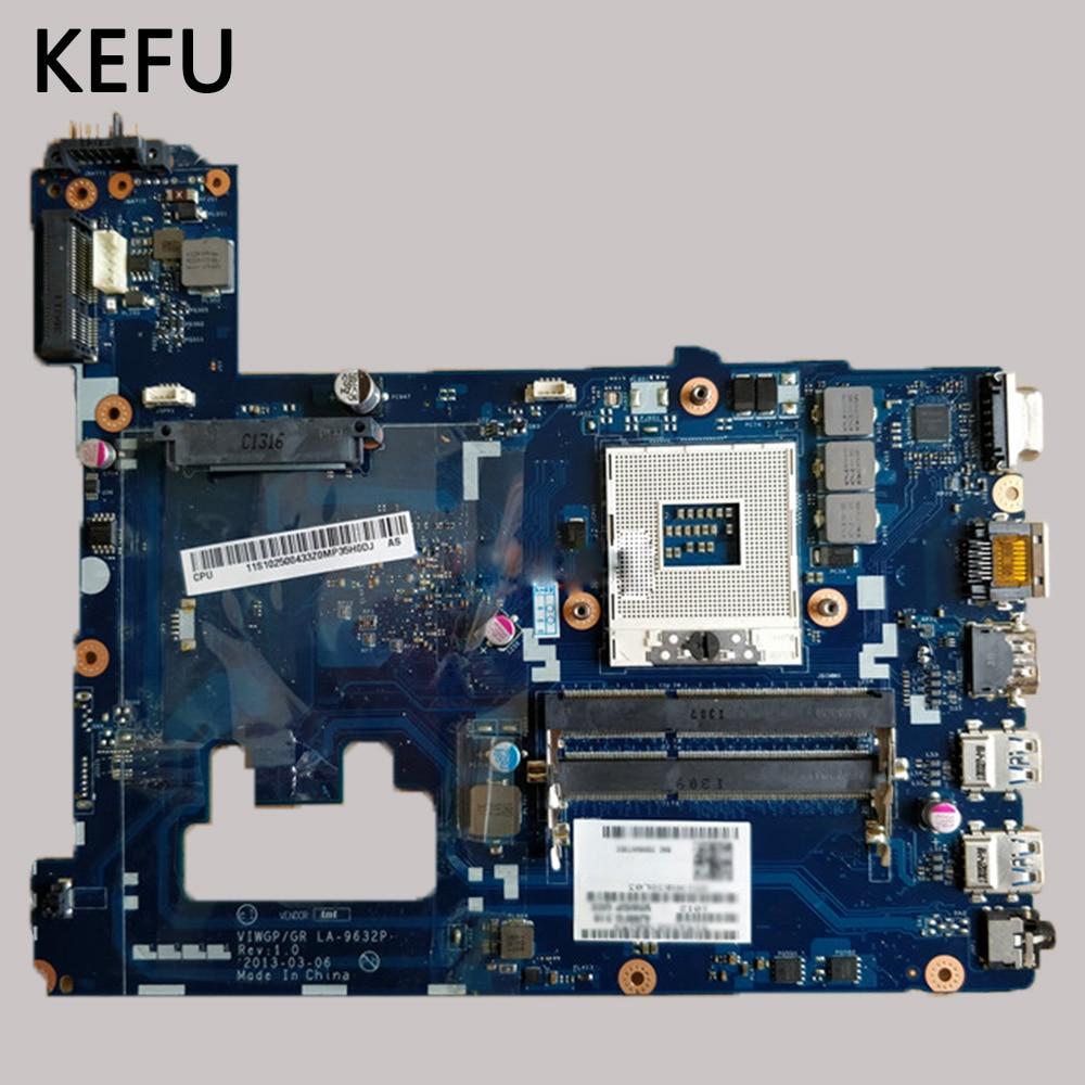 KEFU Scheda Principale LA 9632P DDR3 HM76 Per Lenovo G500 Scheda Madre Del Computer Portatile di trasporto libero testato al 100% di lavoro-in Schede madre da Computer e ufficio su  Gruppo 1