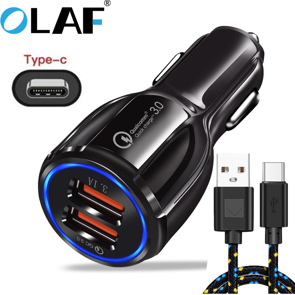 Olaf Chargers Cabl Mobile-Phone Type-C Huawei P20 Samsung S8 Fast S10 Plus S9 USB