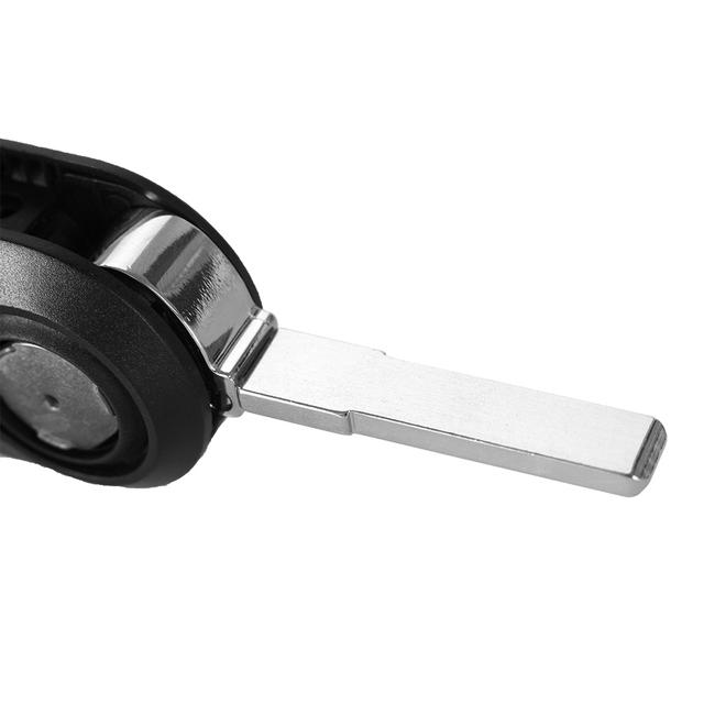 KEYYOU Key Case 3 Buttons Flip folding Remote Key Case Shell Cover For FIAT 500 Panda Punto Bravo Car Alarm Keyless SIP22 blade