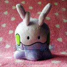 Goomy Pokemon Gooey Slug Dragon Type Soft Tissue Plush Toy Stuffed Animal With a Free Badge as Gift 7 inches