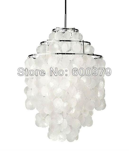 verner panton lighting. Free Shipping Hot Selling Verner Panton Design,3 Circle,DIY Shell Pendant Lamp Lighting A