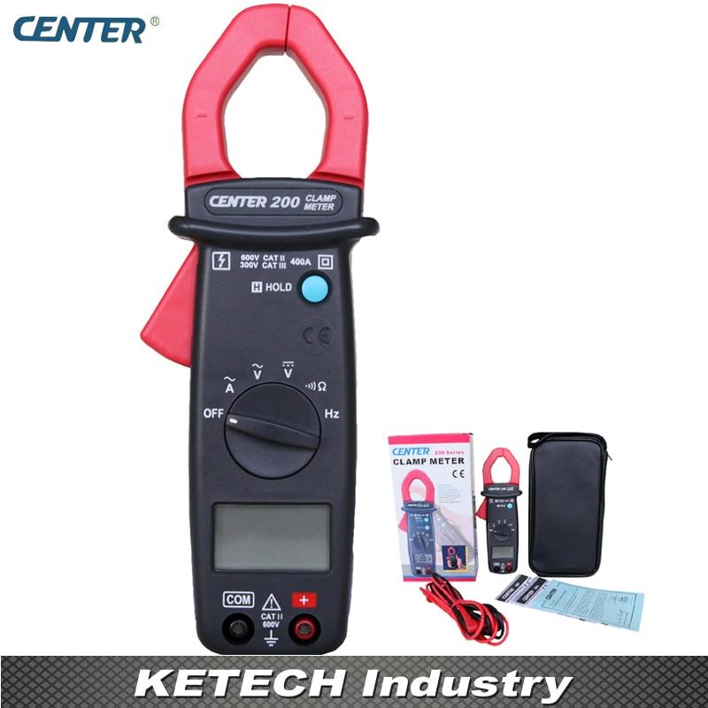 Mini Digital AC Clamp Meter Tester CENTER200 de 3100r pocket size ac digital clamp meter