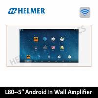5 домашнего аудио видео Системы, в стене Интегрированный усилитель, android Системы, WI FI цифровой стерео усилитель, домашний кинотеатр, плеер