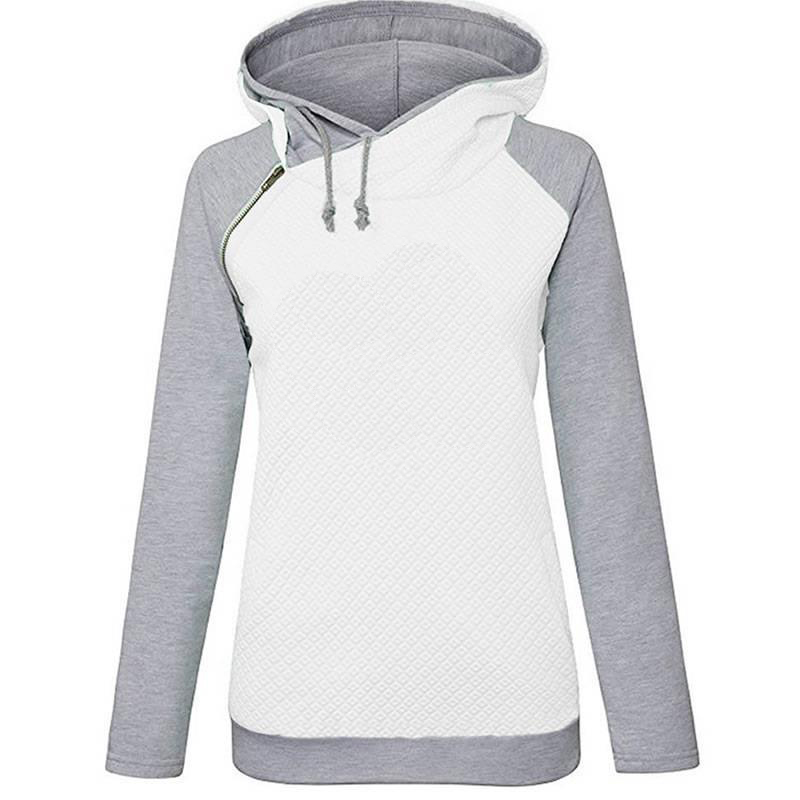 Women Letter Embroidered Hoodie