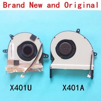 Nuevo ventilador, radiador para Notebook para ASUS X401U X401 X401A F401 F401a X501 X501U X401V X501V CPU portátil, Serie de ventiladores de refrigeración