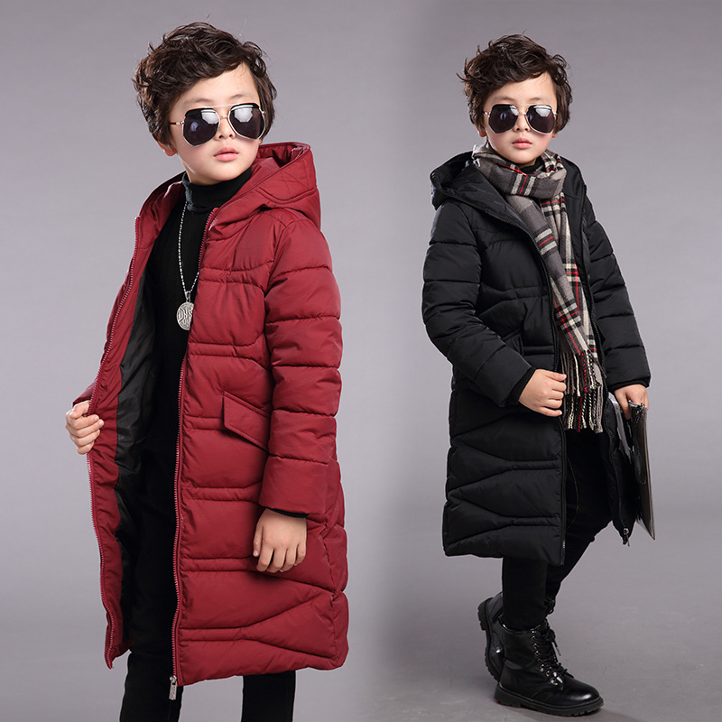 Kids coats boys winter jacket for boys down jackets teenage boys coats Outerwear children's clothing jackets for boys coats 4-12