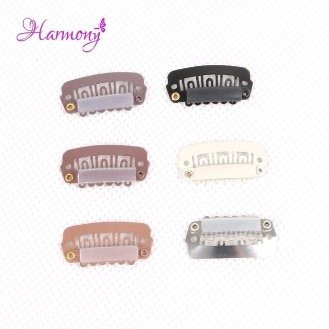 Harmony Plus Hair 50pcs 28cm Hair Snap Clips For Hair Extensions U