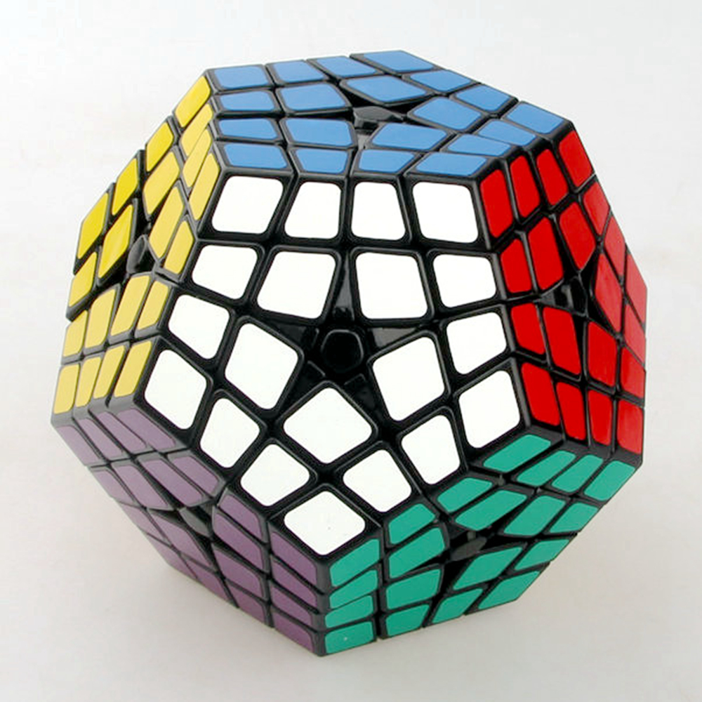 Shengshou Master Kilominx 4 Layer Magic Cube Speed ​​Puzzle Game - Teka-teki - Foto 2