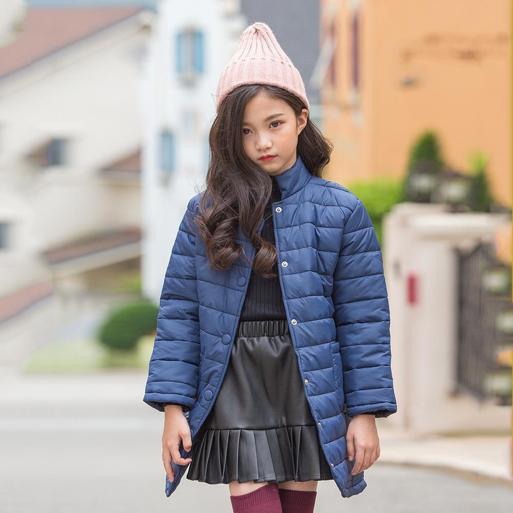 Kseniya Kids 2018 Winter New Girls Thick Cotton Fur Coat Girls Winter Jackets Parka Overcoat Down Jacket For Girl