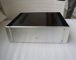 ZEROZONE Алюминий корпус класса DIY Мощность усилитель шасси 430*130*361 мм L7-23