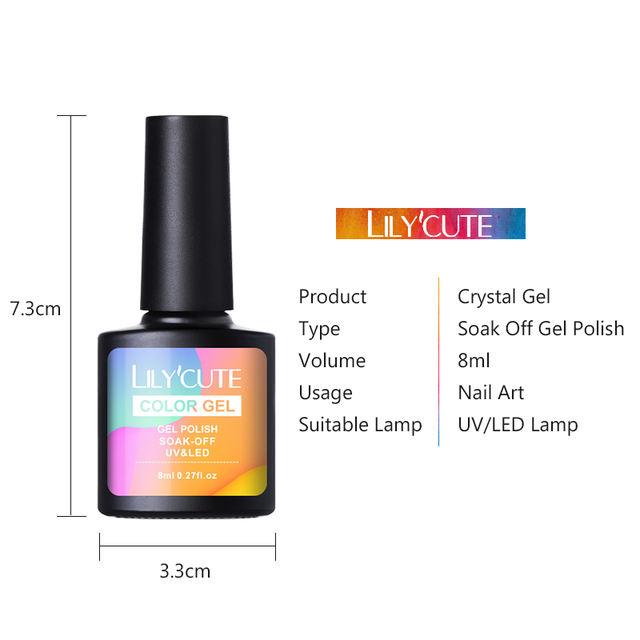 LILYCUTE 8ml Crystal Gel