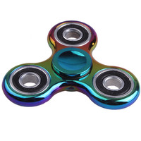 Fidget Spinner Finger ABS EDC Hand Spinner Tri For Kids Autism ADHD Styles Anxiety Stress Relief Focus Handspinner Toys Gift