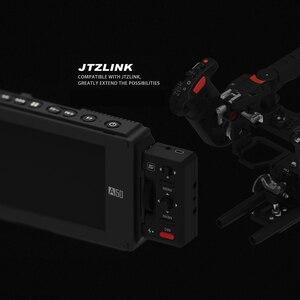 """Image 2 - FOTGA A50T 5 """"FHD וידאו על מצלמה מגע מסך שדה צג עבור sony עם חם/קר נעל הר מתאם 3/8 Inch M6 מתאם"""