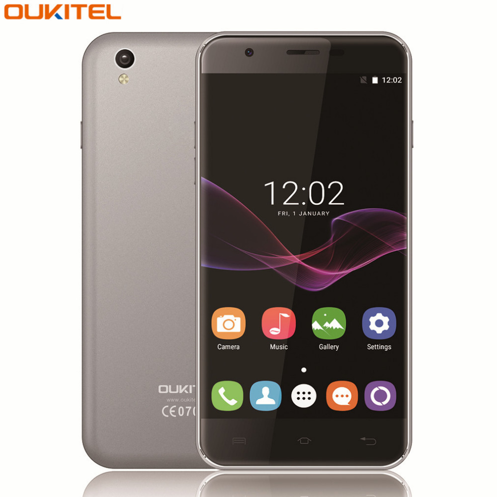 OUKITEL U7 Max 5.5 Pulgadas HD 4G Teléfono Móvil Android 6.0 MT6580A Quad Core 1