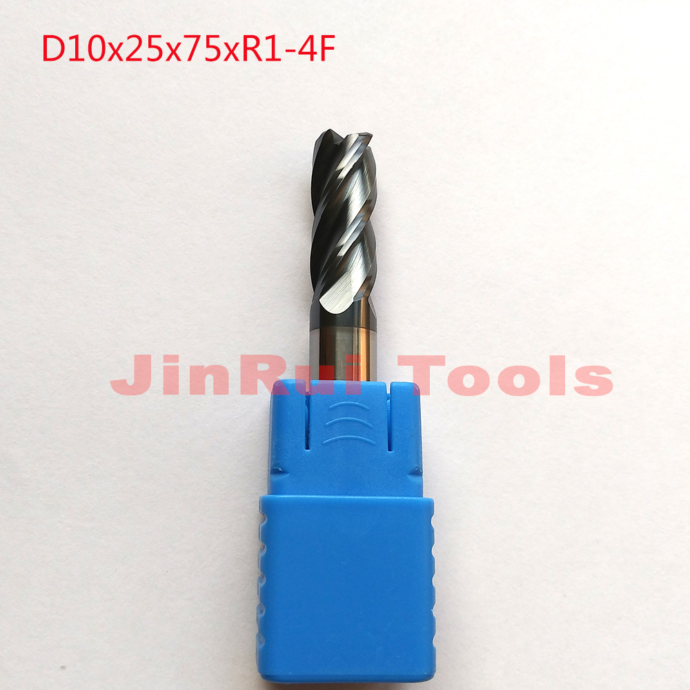 Tapered Ball Nose End Mill Carbide HRC55 R1.0*20*50-D6 5.7° For CNC Milling Bits