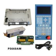 """И PORCHESON PS660AM+ MS210A контроллер системы для литья под давлением машина PLC PS660AM с """" панель тонкопленочного дисплея"""