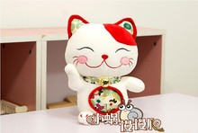 cute Plutus cat toy stuffed red ears cat toy plush cat doll birthday gift about 25cm red