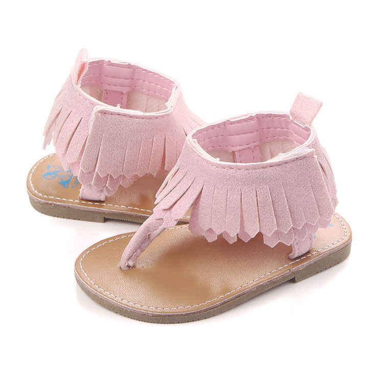 3fdddecadec ... Infant Baby Girls Summer Crib Walking Sandals Infant New Soft Shoes  0-18 Months ...