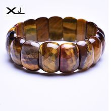 XJ Natural Tigers Stone Bracelet Jewelry Handmade Beads  Mans Bracelets Creative Gifts