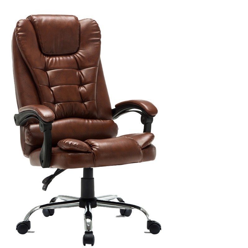 High Quality Nh-333 Gaming Boss Chair Ergonomics Wheel With Footrest Synthetic Leather Massage Steel Feet Office Furniture