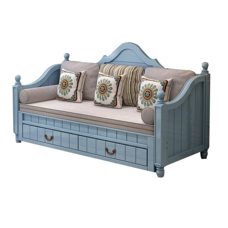 Oturma Grubu Mobilya Sillon Sectional Home Para Meubel Moderna Wooden Retro Set Living Room De Sala Furniture Mueble Sofa Bed