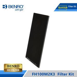 Image 2 - Benro FH100M2K3 100mm filtre Kit système ND/GND/CPL filtre tenir Support pour plus de 16mm large ange lentille DHL livraison gratuite