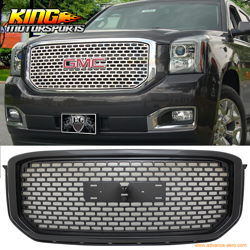 For 2015 2016 GMC Yukon XL Mesh Style Front Grille Grill