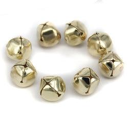 100 Pieces 15mm Gold Christmas Jingle Bells Pendant/Decoration/Craft/Jewellery DIY