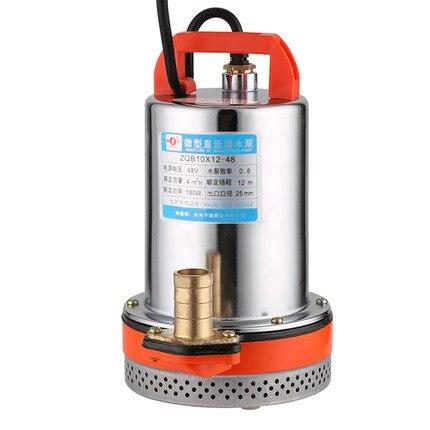 12V24V48V60V DC Self-priming High Lift Submersible Pump / Battery Car Pump Electric Lawn Garden Irrigation Pump
